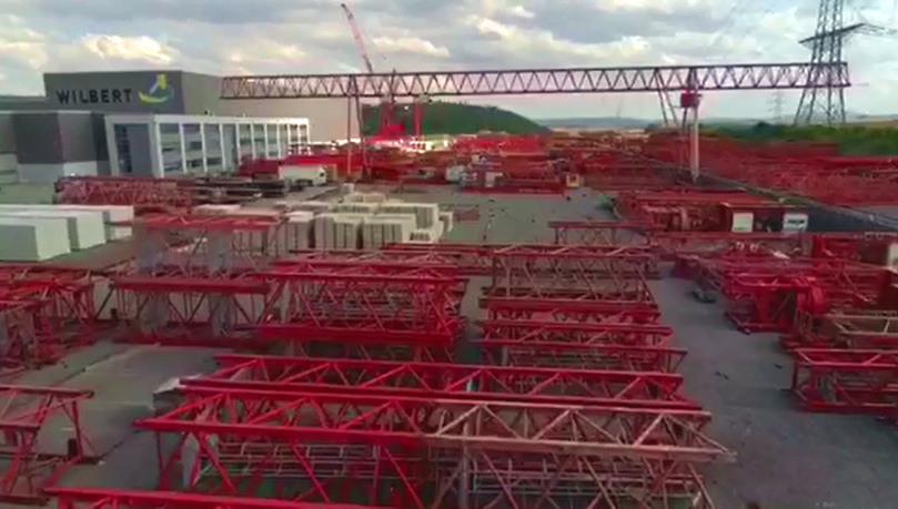 Tower Cranes from Germany: WILBERT e tronic Trolley Cranes