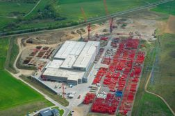Foto vom WILBERT Werksgelände aus der Luft