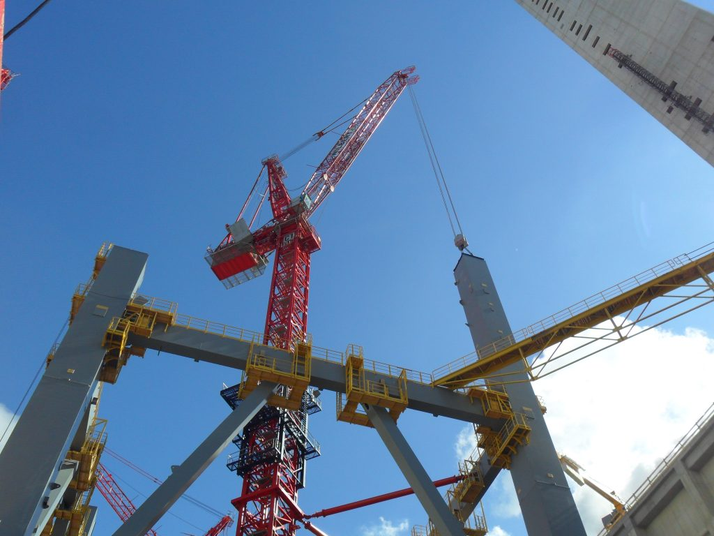 Luffing jib crane WT 2405L e.tronic – WILBERT TowerCranes GmbH