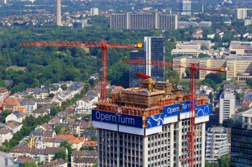 WT 300 e.tronic am OpernTurm in Frankfurt