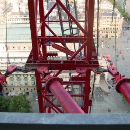 Kran-Anbindung an den OpernTurm